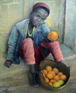 لوحة رسمت 1943 نالت جائزة فى روما